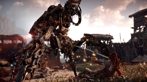 horizon zero dawn ps4 juego fisico original sellado cd full