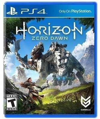 horizon zero dawn - ps4 juego físico - sniper game