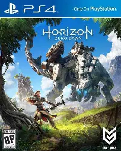 horizon zero dawn ps4 playstation 4 - fisico