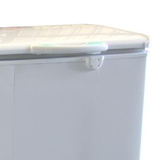 horizontal briket freezer