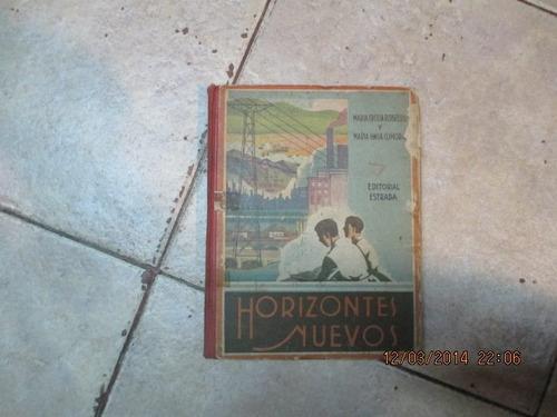 horizontes nuevos - robredo / cumora - estrada - 1950