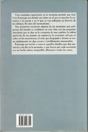 horizontes verticales en la patagonia - josé luis fonrouge