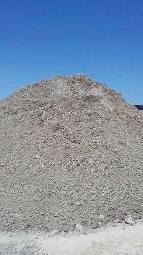 hormigon pobre recuperado/piedra patida/arena/cascote/tosca.