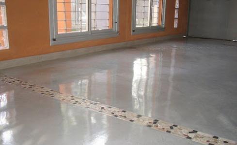hormigón pulido para interiores y exterior domiciliario