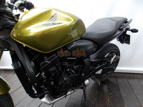 hornet 600 2011 verde