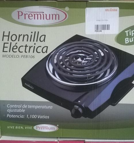hornilla electrica nueva de caja en foto la descripcion