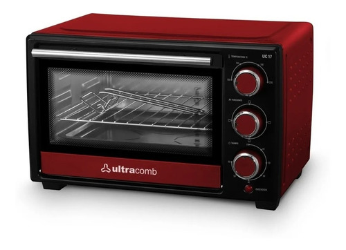 hornito horno eléctrico ultracomb uc-17 1280w 17lts cuotas