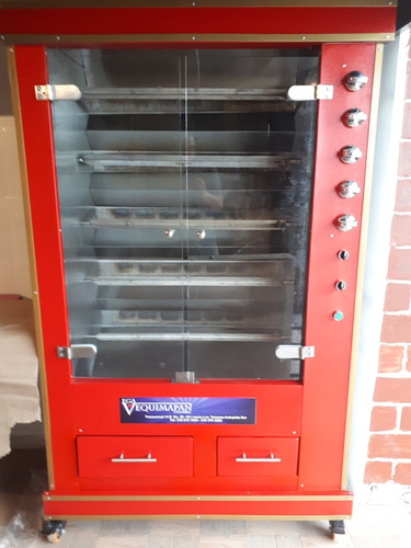 horno a gas asador de pollos sistema infrarrojo vertical