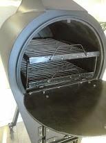 horno a leña  portátil + 2 bandejas enlozadas de 42x68cm
