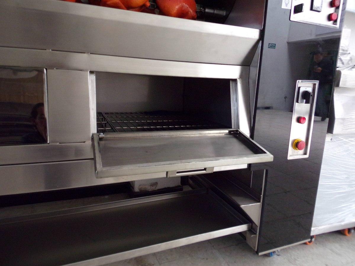 Horno asador de 36 pollos modelo ecogas 2016 for Estufas industriales usadas bogota