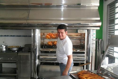 horno asador de pollos