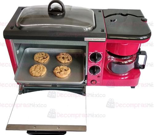 horno cafetera parrilla electrica disa 3 en 1 envio gratis
