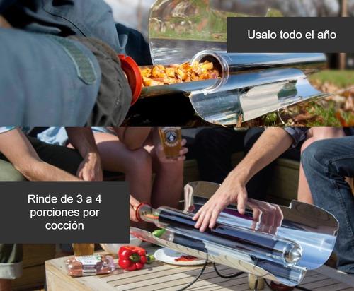 horno cocina solar portable para camping - sc-640 - cuotas