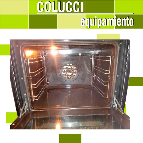 horno convector pauna electrico beta 21 + base con guias