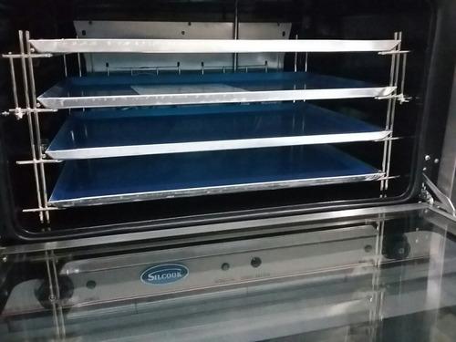 horno convector silcook 4 bandejas 60x40 electrico 107