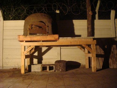 horno de barro , 100% adobe , construcción tradicional