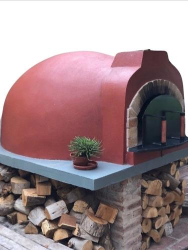 horno de barro a leña «hornos  la  tronera»