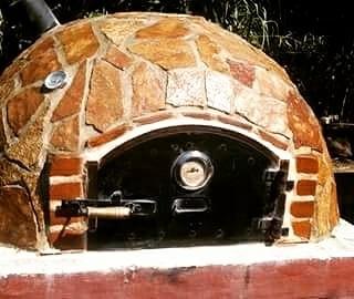 horno de barro artesanal. el verdadero!