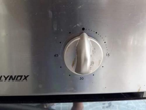 horno de empotrar 60 cm. acero inoxidable 220 v