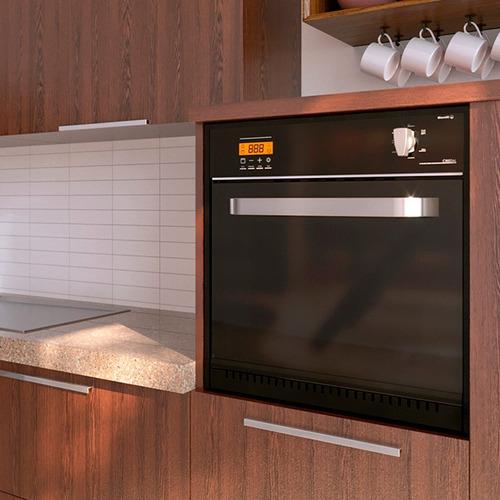 horno de empotrar morelli 201209 90 cm gas grill touch *10