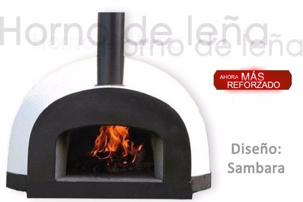 Horno de le a o de gas dise o sambara carne pizza pan 8 en mercado libre - Disenos de hornos de lena ...