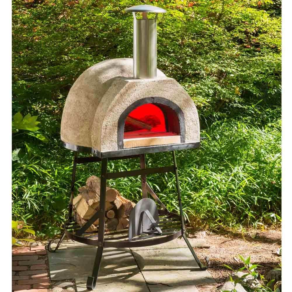 Horno de lena para pizza 70 cm 9 en mercado libre for Pala horno pizza