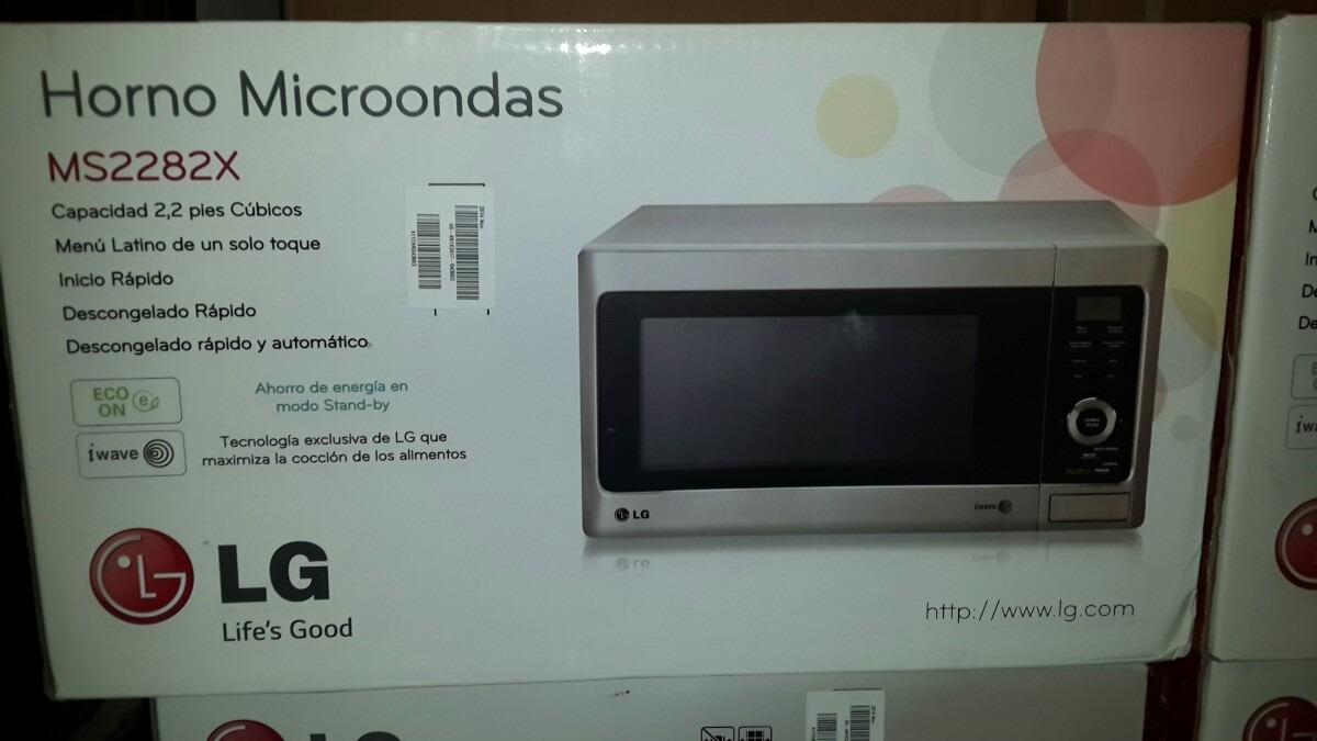 Horno De Microondas 2.2 Pies Cúbicos Lg Color Plata - Bs