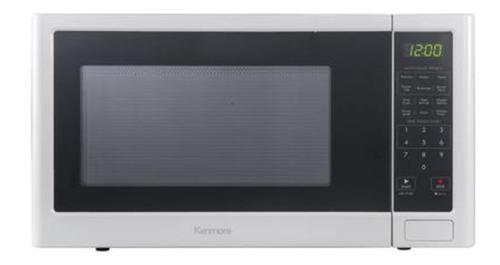 horno de microondas de mostrador de 1.1 pies cubico kenmore