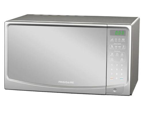 horno de microondas frigidare plateado digital 10 niveles