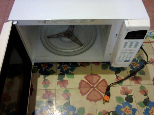 horno de microondas lg ms-1742dp casi nuevo