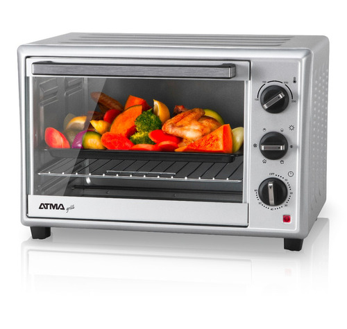 horno eléctrico 40l convección grill atma hg4010 env gratis