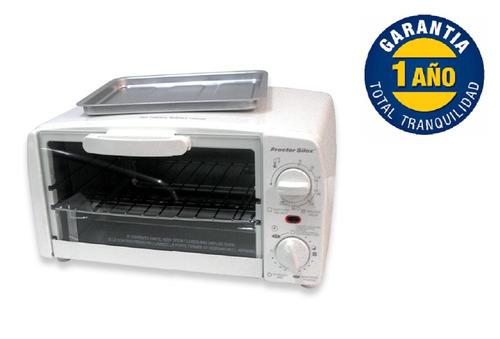 horno eléctrico acero color blanco tostador envio gratis