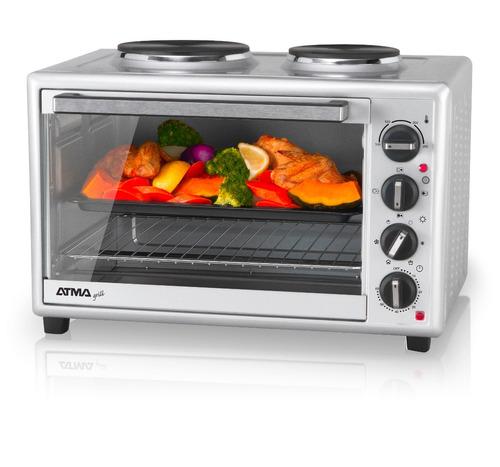 horno eléctrico anafes grill 40l atma hg4010ae