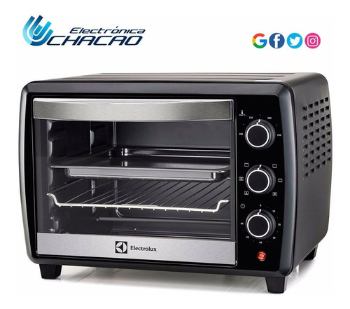 horno eléctrico chef electrolux 25 litros eoc50 4320adg2975