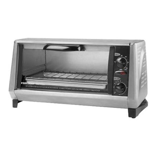 Horno electrico cromado black and decker b d tro 965 bs for Horno electrico black decker