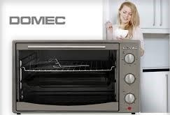 horno electrico domec 42 lts acero inoxidable