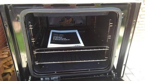 horno eléctrico empotrable fornello tst