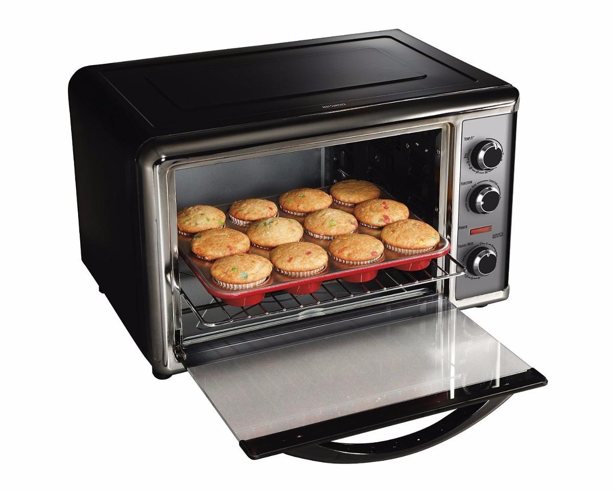 Horno electrico hamilton beach 31104 oven rostizado bake for Ofertas de hornos electricos