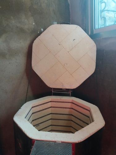 horno electrico para ceramica  marca duncan de 8 ladrillos