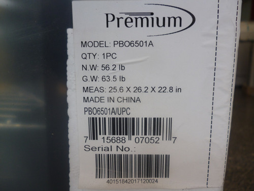 horno electrico pbo6501a premium 220v