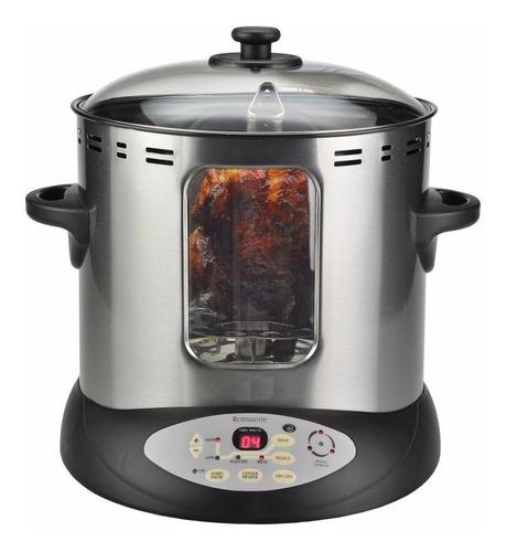 horno eléctrico rostizador para pavo pollo kalorik cap4.5 kg