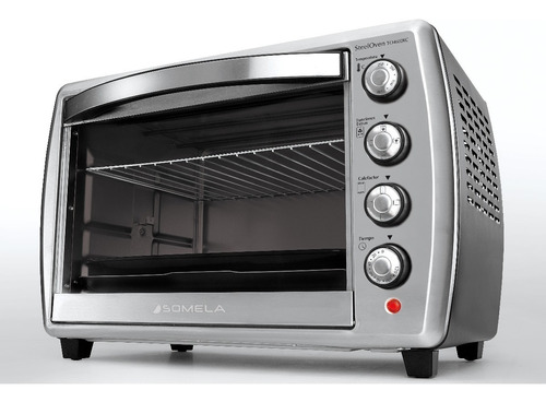 horno eléctrico somela steel oven 46 litros