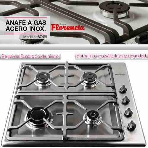 horno electrico táctil + anafe acero inox + env gratis