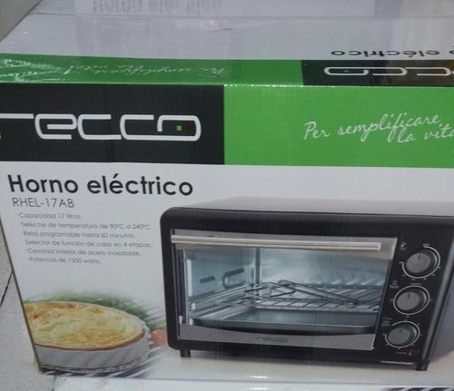 horno electrico tostador / asador recco
