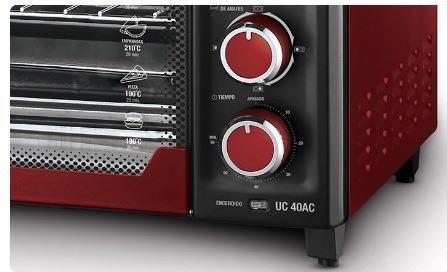 horno eléctrico ultracomb 2 anafes uc-40ac