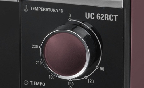 horno eléctrico ultracomb uc-62rct 62 lts, 2000 w