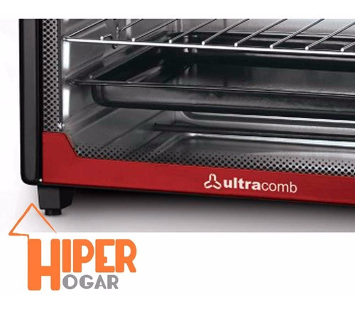 horno electrico ultracomb uc40ac 40lts 3200w 2 anafes