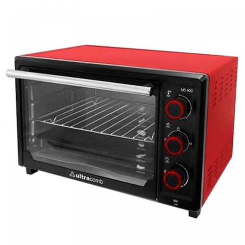 horno eléctrico ultracomb uc40c 40lts, 1600w, grill