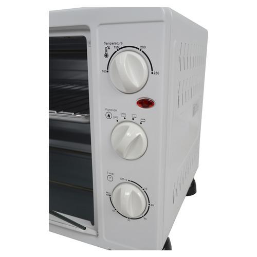 horno eléctrico wemir gr36 36lts 4 funciones 1500w