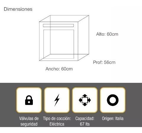 horno eléctrico whirlpool empotrable akzm756ix